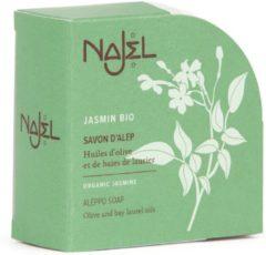 Najel Biologische Aleppo Zeep met Jasmijn (100 gram)