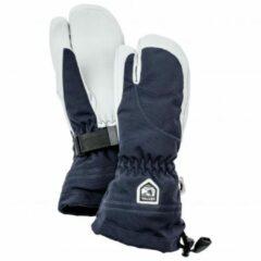 Hestra - Women's Heli Ski 3 Finger - Handschoenen maat 5, zwart/grijs/blauw