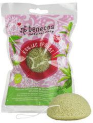Benecos Natural Konjac Sponge - groen tea