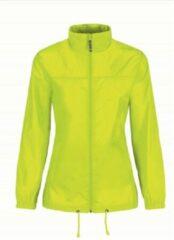 Bc Dames regenkleding - Sirocco windjas/regenjas in het geel - volwassenen L (40) geel