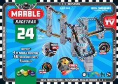 Grijze Marble Racetrax Knikkerbaan Marble Racetrax: starter set - 24 sheets 4 meter