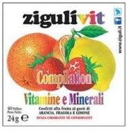 ZiguliVit Compilation Vitamine e Minerali 40 confetti alla frutta