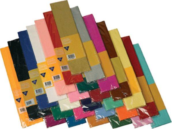 Afbeelding van Haza Original Crepe Papier Plat Babyblauw 250 X 50 Cm - Knutselen Met Papier - Knutselspullen