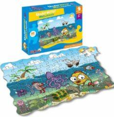 FDBW Puzzel Onderwaterwereld | Puzzelen voor kinderen – Leerzame Puzzels | Kinderpuzzels 3 jaar | Puzzel 45 stukjes | Puzzel kind 3 jaar | Leuke Puzzels voor Kinderen – Kinderpuzzel Onder Water