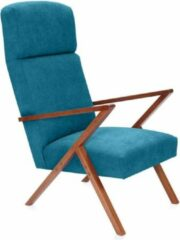 Sternzeit Retro Relaxfauteuil Turquoise
