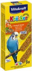 Vitakraft Parkiet Kracker 3 stuks - Vogelsnack - Honing