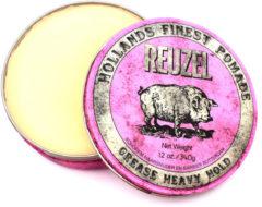 Reuzel - Grease Heavy Hold (Reuzel Pink) - 340 gr