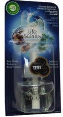 Air Wick Life Scents Elektrische Geurverspreider - Navulling - Turquoise Oase - 19 ml