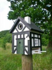 Wildlife Garden Multihok Korsvirke - Vogelhuisje - Zwart/Wit