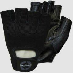Zwarte Scitec Nutrition - Trainingshandschoenen - Unisex - Workout Gloves - Basic Style - L