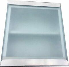 Roestvrijstalen Haceka badkamer- medicijnkast met glazen Schuifdeur 30x30x12cm niet afsluitbaar