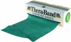 Zwarte Thera-Band Theraband Weerstandsband Oefenband Groen - 5,5 meter lang - Zware Weerstand