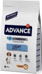 3 kg Advance medium light hondenvoer