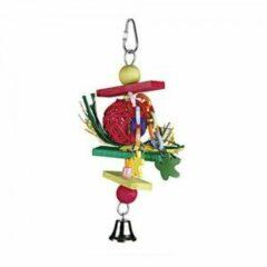 Beeztees houten vogelspeeltje Trinnox - 22 cm.