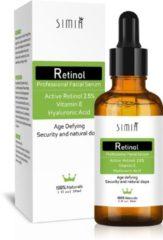 Cosprof Actieve Retinol Serum - Met Vitamine E & Hyaluronzuur - Gezichtsserum - Collageen - Anti Aging - Celvernieuwing - Anti-Acne - Tegen Mee-eters en Grove Poriën - Tegen Pigmentvlekken - Gezichtsverzorging - 30ml