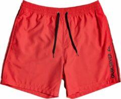 Quiksilver Vert Volley 17 Boardshorts rood