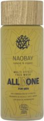 Naobay All In One Face Wash for Men, reinigingsgel 100ml