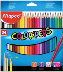 Maped kleurpotlood Color'Peps 24 potloden