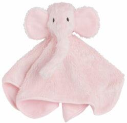 Baby's Only nuffeldoek Olifant roze knuffeldoekje