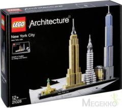 Zwarte LEGO Architecture New York City - 21028