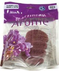 Paarse MartiniSpa-Aroma Therapie- Viooltjes - Ergonomische Badspons