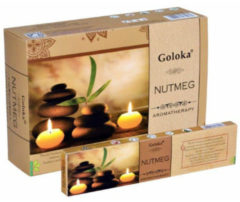 Goloka Wierook goloka aromatherapy nutmeg 15 Gram