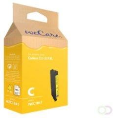 WeCare - Canon CLI-551XL - Huismerk inktcartridge Geel / Yellow