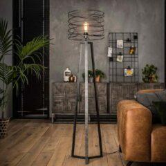 Zwarte Easy Furn Vloerlamp Carly