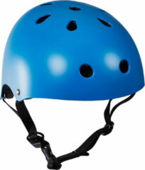 Blauwe Essentials - Skatehelm - Kinderen - maat 53-56cm / S/M - Blauw
