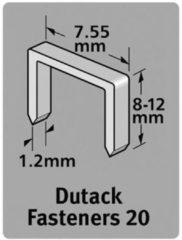 Dutack Niet serie 20 Cnk 12mm blister/1000 st.