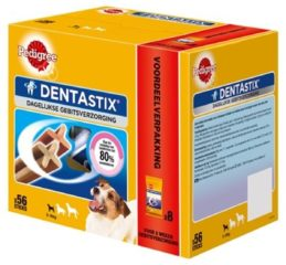 Pedigree Dentastix Multi-Pack - Hondensnacks - Dental 880 g 56 stuks - Hondenvoer