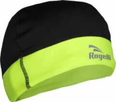 Rogelli sport muts model Bonet Lester - zwart/geel