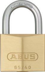 Gouden ABUS Hangslot GS 40 mm messing gelijksluitend serie 405