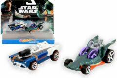 Blauwe Star Wars Han Solo & Greedo
