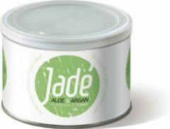 Groene Jade Jadé Striphars met Aloe Vera en Argan │ ontharingswax │ Hars in blik │ wax can │stripwax │striphars voor ontharen van het gehele lichaam │400 ml