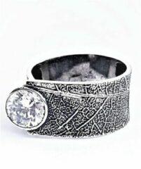Marutti zilveren ring met Zirkonia