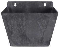 Zwarte Artstone Wandhanger Ella zwart 22 x 15 x 17 cm