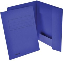 Classex Class'ex dossiermap, 3 kleppen, donkerblauw