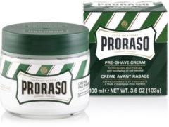 Proraso Preshave creme eucalyptus/menthol 100 Milliliter