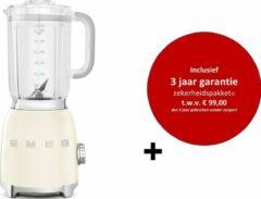 Creme witte Smeg - BLF01CREU MkIII - Blender - Crème - met drie jaar garantie!