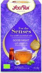 Yogi Tea For the Senses - Good Night - Voordeelverpakking 6 pakjes van 20 theezakjes
