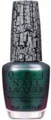 Groene O.P.I Shatter Effect Nagellak - Shatter The Scales