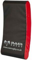 RAM Rugtby Curved Hit Shield van topmerk in rugby RAM Senior - 4 kg.