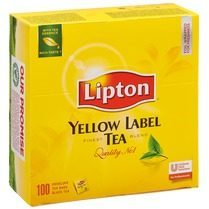 Lipton thee, Yellow Label Tea, pak van 100 zakjes