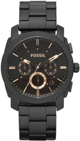 Afbeelding van Fossil FS4682 Herenhorloge 'Machine' Chronograaf 44 mm