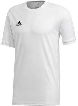 Afbeelding van Witte T-shirt Korte Mouw adidas TEAM19 SS Jersey