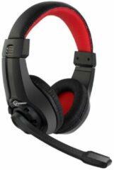 Gembird GHS-01 Gaming headset 3.5 mm jackplug Kabelgebonden On Ear Zwart