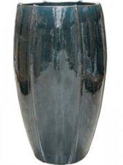 Ter Steege Moda bowl high bloempot 43x43x74 cm oceaanblauw