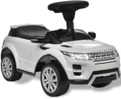 VidaXL Loop-auto Land Rover 348 met muziek wit