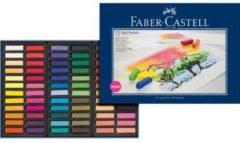 Faber-Castell Pastelkrijt Faber Castell halve lengte etui à 72 stuks